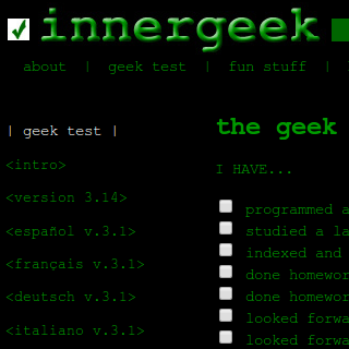 Capture Geek Test