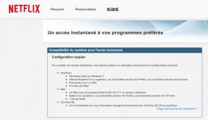 Netflix incompatible avec Linux